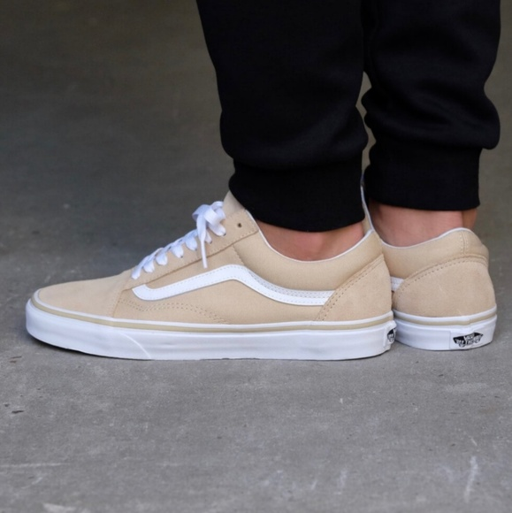 904642a4ef Nude Suede and Canvas Old Skool Vans. M 5b62ca3f8ad2f9276d934ce2. Other  Shoes ...